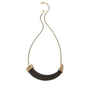 House of Harlow Horizontal Horn Necklace
